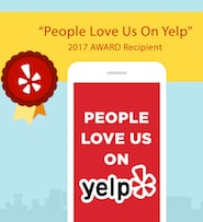 People Love Us on Yelp Award